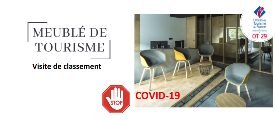 Visites de meublés de tourisme-INFO COVID-19