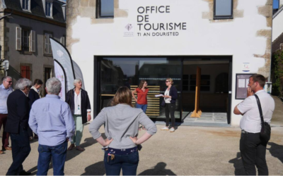Plougasnou- Inauguration du nouvel Office de Tourisme
