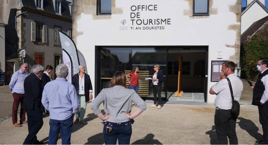 Plougasnou- Inauguration du nouvel Office de Tourisme